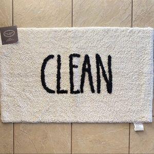 Rae Dunn CLEAN Bath Mat